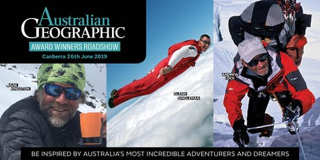 Australian Geographic Awards Roadshow – Canberra 26 June 2019 tickets