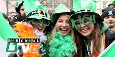 2020 St. Patrick's Day Bar Crawl | Raleigh, NC | Bar Crawl Live