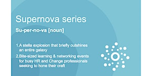 The Supernova Series: Keeping pace, in the skills...