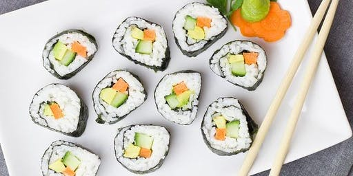 Ashburn Sushi Class  (for 2)- Maki Roll make easy