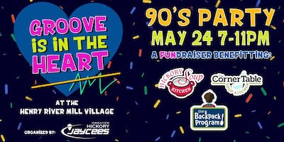 Groove Is in the Heart 90s Dance Party