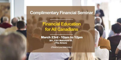 Complimentary Financial Education