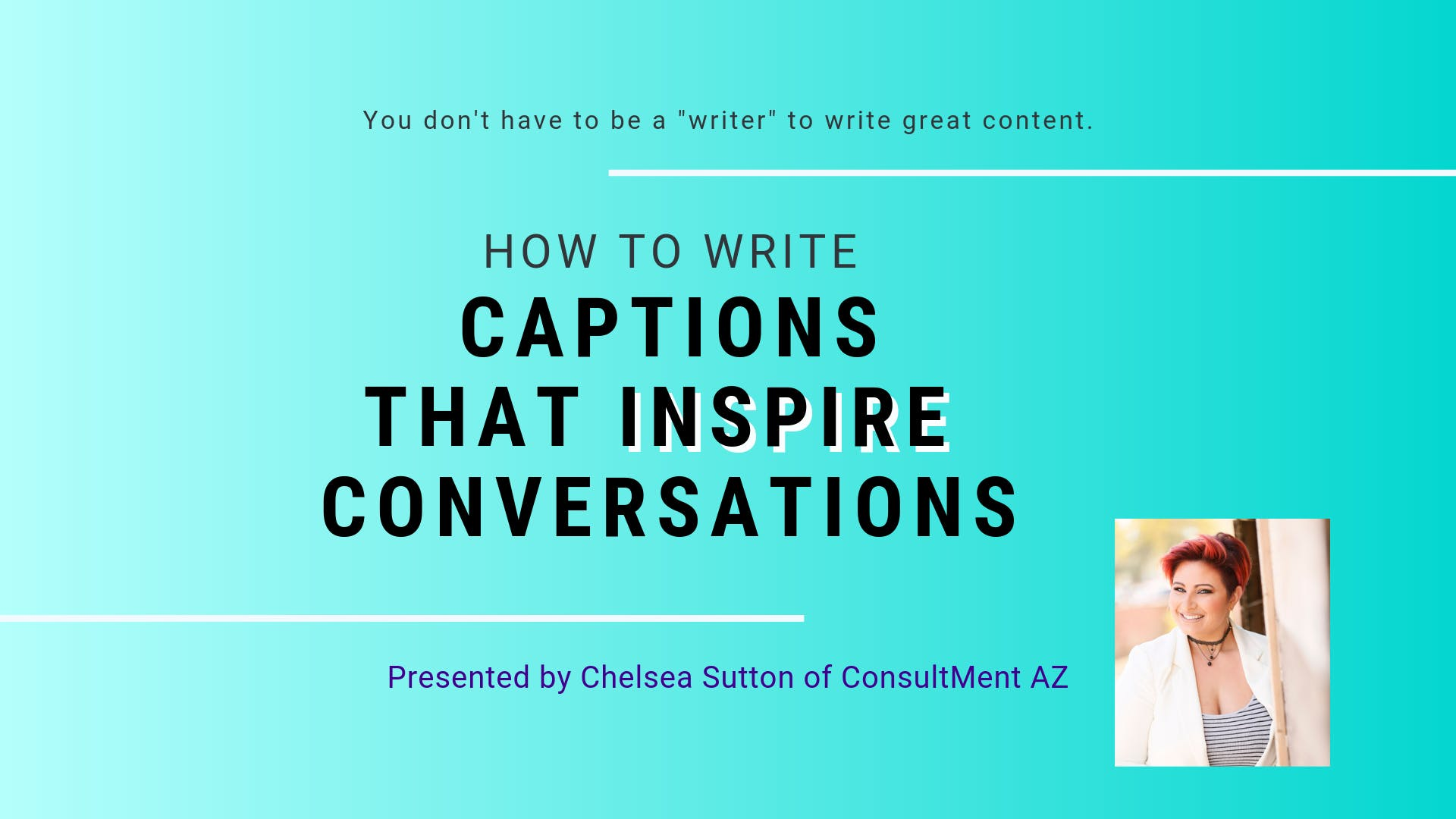 How to Write Captions that Inspire Conversation