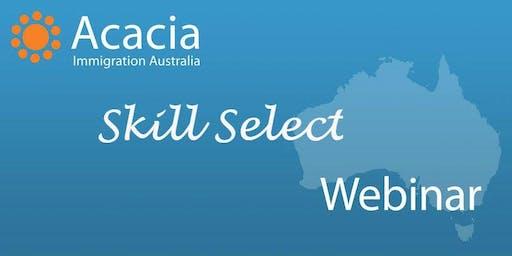 SkillSelect Webinar
