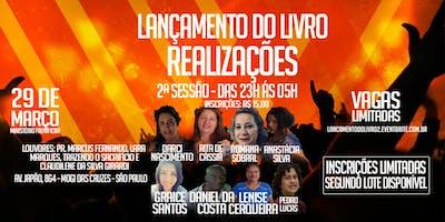 Lançamento do Livro Realizações - 2° Sessão  Vigília