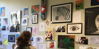 Art and Flash Fiction Competition Exhibition; Launch - Youth Week 2019