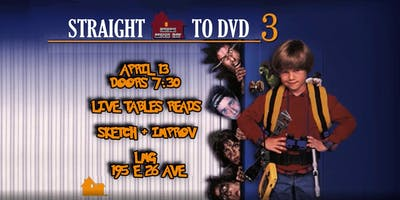 Straight to DVD!