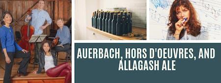 Pub Concert I: Auerbach, Hors d'oeuvres, and Allagash Ale