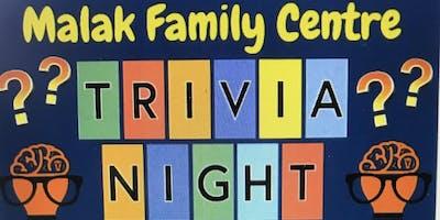 Malak Family Centre Quiz Night
