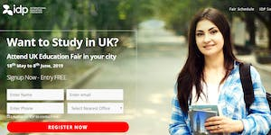 Study in the UK – Education Fair in Bangalore - Free...