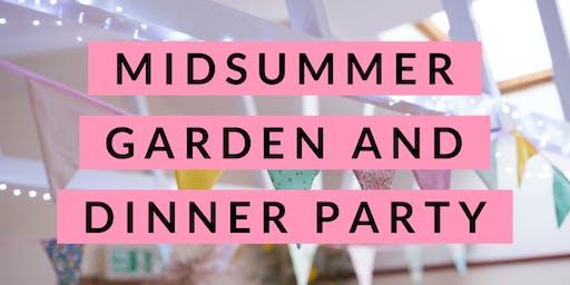 Midsummer Garden and Dinner Party