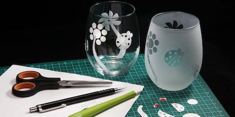 WORKSHOP | Creative Glassware Sandblasting with Jo Bone & Aaron Micallef - 1:30pm tickets
