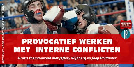 Thema-avond Provocatief Coachen: werken met innerlijke conflicten tickets