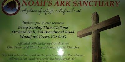 Noah's Ark Sanctuary Church Service