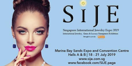 Singapore International Jewelry Expo 2019 tickets