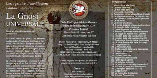 Milano - Corso di Meditazione: La Gnosi Universale