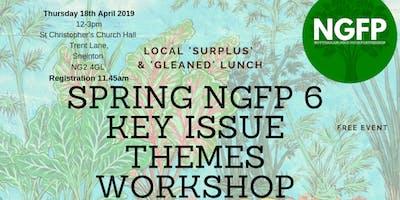 Nottingham Good Food Partnership 6 Key Issue Spring 2019 Workshop