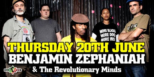 BENJAMIN ZEPHANIAH & THE REVOLUTIONARY MINDS (The Mill, Birmingham)