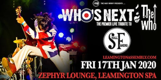 Who's Next + The Small Fakers (Zephyr Lounge, Leamington Spa)