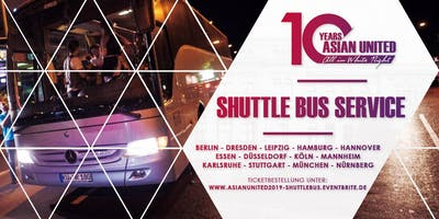 10 YEARS ASIAN UNITED / SHUTTLE BUS