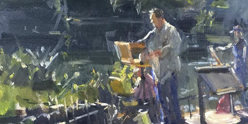 Painting Thameside with Roger Dellar ROI PS RI