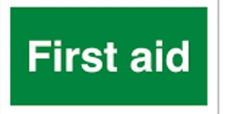 First Aid Workshop - Stratford-upon-Avon - Sunday 21st July (1 day) tickets