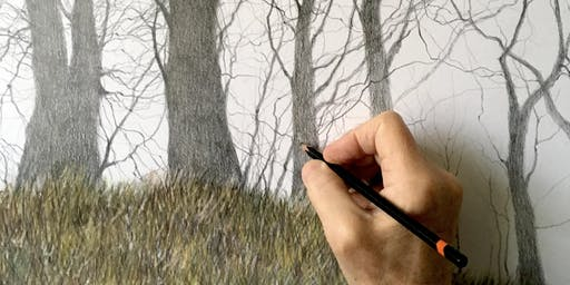Graphite Treescapes Workshop with David Brammeld RBA PS