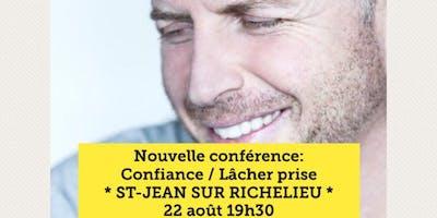 ST-JEAN-SUR-RICHELIEU - Confiance / Lâcher prise 15$