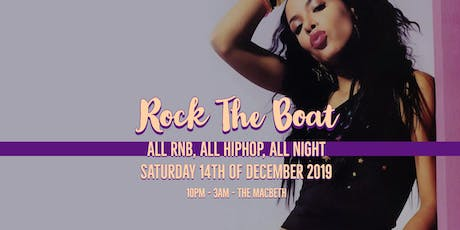 RockTheBoat - Old Skool RnB, HipHop & Free Alcohol tickets