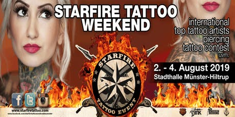 12. Starfire Tattoo Weekend Tickets
