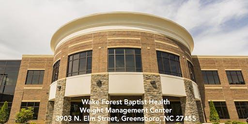 Wake Forest Baptist Health Weight Management Center Free Seminar