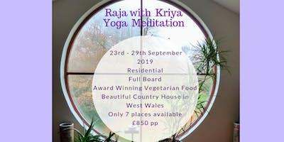 A Raja Kriya Yoga Pure Meditation Retreat Course.