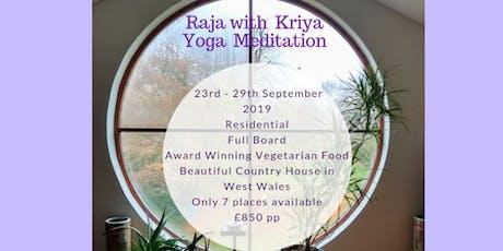 A Raja Kriya Yoga Pure Meditation Retreat Course. tickets