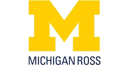 Michigan Ross Part Time MBA Phone Consultations 11-12-19