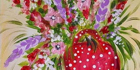 "Paint ""Boot Bouquet"" at Coquitlam Farmers Market Sunday Morning tickets"