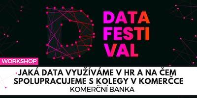 Jaká data využíváme v HR a na čem spolupracujeme s kolegy v Komerčce