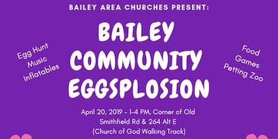 Bailey Community Eggsplosion