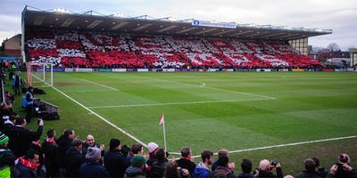 AWAY SUPPORTERS - Lincoln City v Macclesfield
