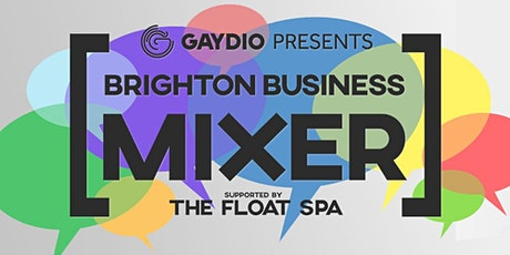 CANCELLED-Gaydio Brighton Business Mixer:Brunch  Edition tickets