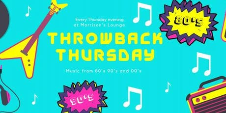 Throwback Thursday PARTY tickets