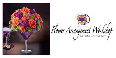 Fall Flower Arrangement Workshop