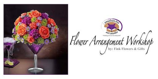 Fall Flower Arrangement Workshop