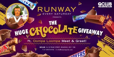 Runway Presents The Chocolate Giveaway ft. Real Oompa Loompa!