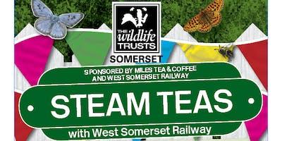 Somerset Wildlife Trust Steam Teas with WSR