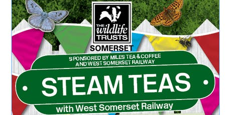 Somerset Wildlife Trust Steam Teas with WSR tickets
