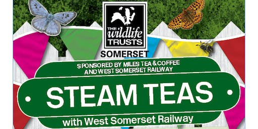 Somerset Wildlife Trust Steam Teas with WSR