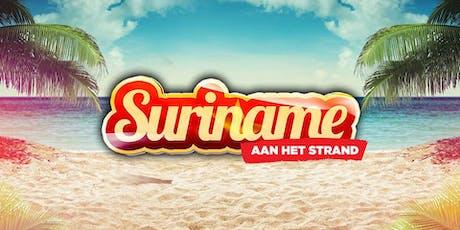 SURINAME AAN HET STRAND 2019 tickets