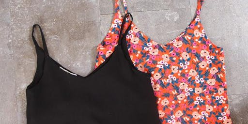 Sew an Ogden Cami with Hannah Arose of Palindrome Dry Goods