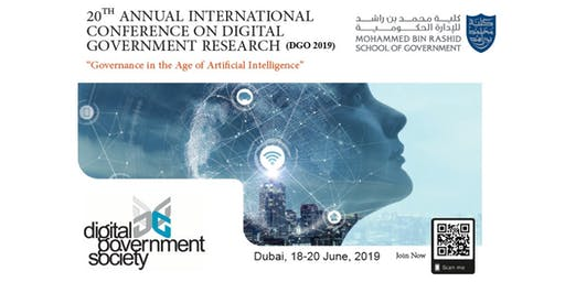 20th Annual International Conference on Digital Government Research (dg.o 2019)