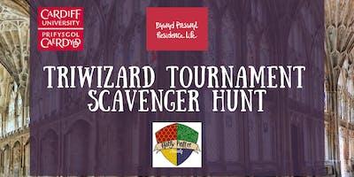 Triwizard Tournament Scavenger Hunt | Twrnament Tri-Ddewinol Helfa Sborion